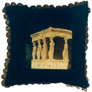 c8 lady greek temple